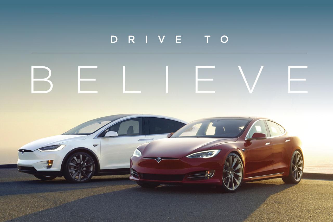 [캠페인 이미지] Tesla_Drive To Believe