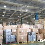 스마트솔루션즈, 르노삼성자동차 부산공장에 대형실링팬 공조시스템 구축