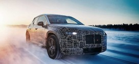 'BMW iNEXT'의 실내 티저 공개, 다각형 스티어링 휠 적용