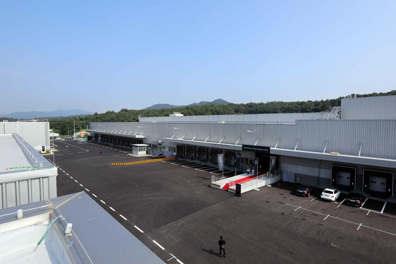 [사진 2] 메르세데스-벤츠 부품물류센터_외부 전경