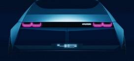 현대차, 포니 닮은 전기 컨셉카 '45' 프랑크푸르트 모터쇼에서 공개 예정