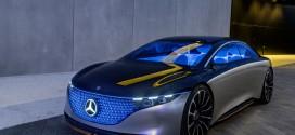 메르세데스-벤츠, 프랑크푸르트 모터쇼에서 '비전 EQS' 컨셉트카 세계 최초 공개