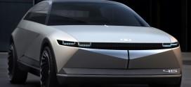 """""""미래 전기차 디자인의 새로운 방향성을 제시하다!"""" 현대차, EV 콘셉트카 45 최초 공개"""