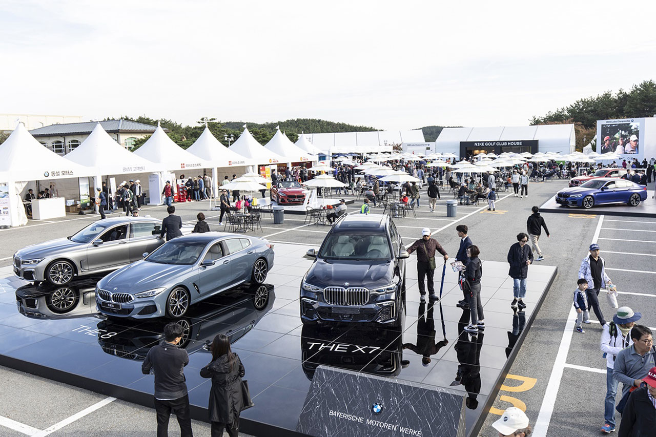 [사진] BMW 레이디스 챔피언십 2019 갤러리 플라자 전경