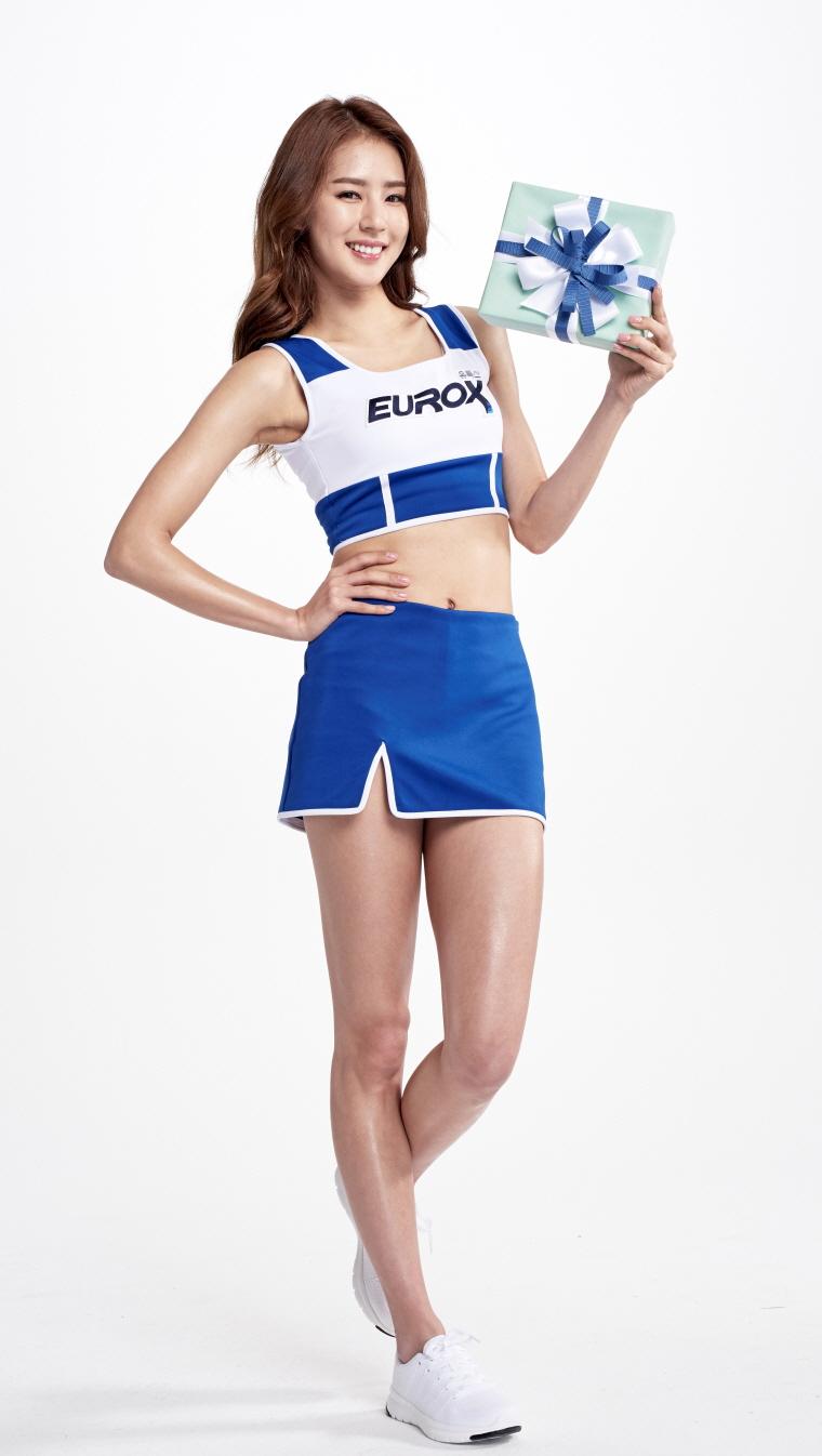 유록스 광고모델 치어리더 박기량