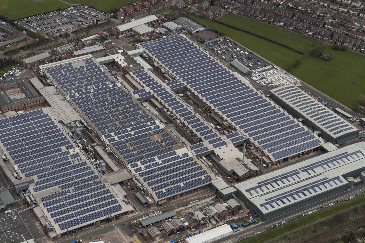 [참고사진] 벤틀리, 영국 럭셔리 자동차 브랜드 중 최초로 탄소중립 공장 실현(1)