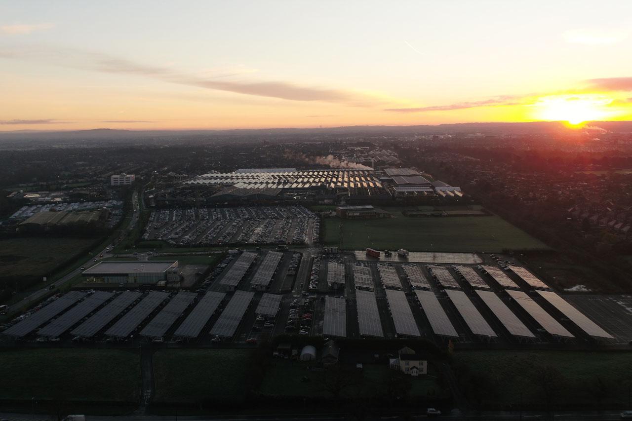 [참고사진] 벤틀리, 영국 럭셔리 자동차 브랜드 중 최초로 탄소중립 공장 실현(2)