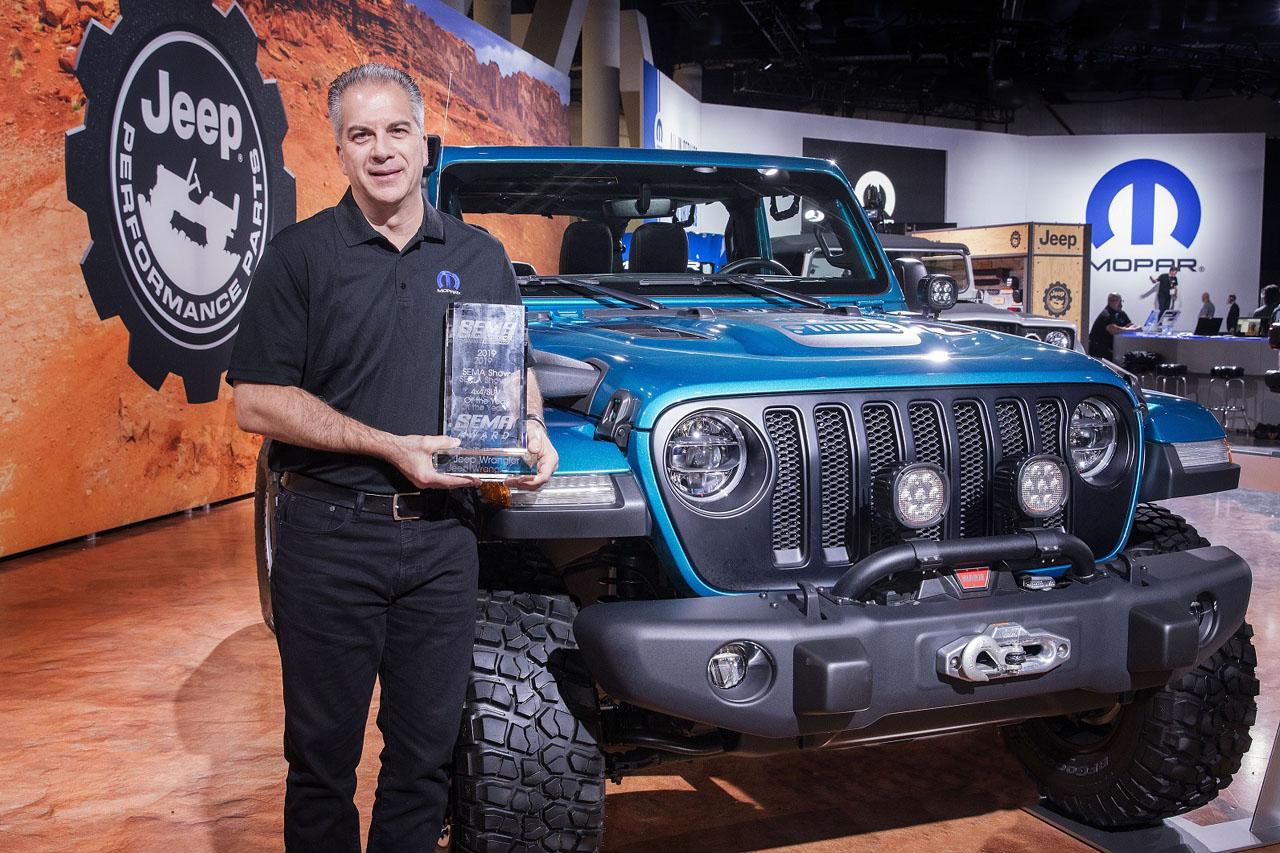 Jeep® Wrangler Earns 10th Consecutive SEMA '4x4/SUVof the Year' Award