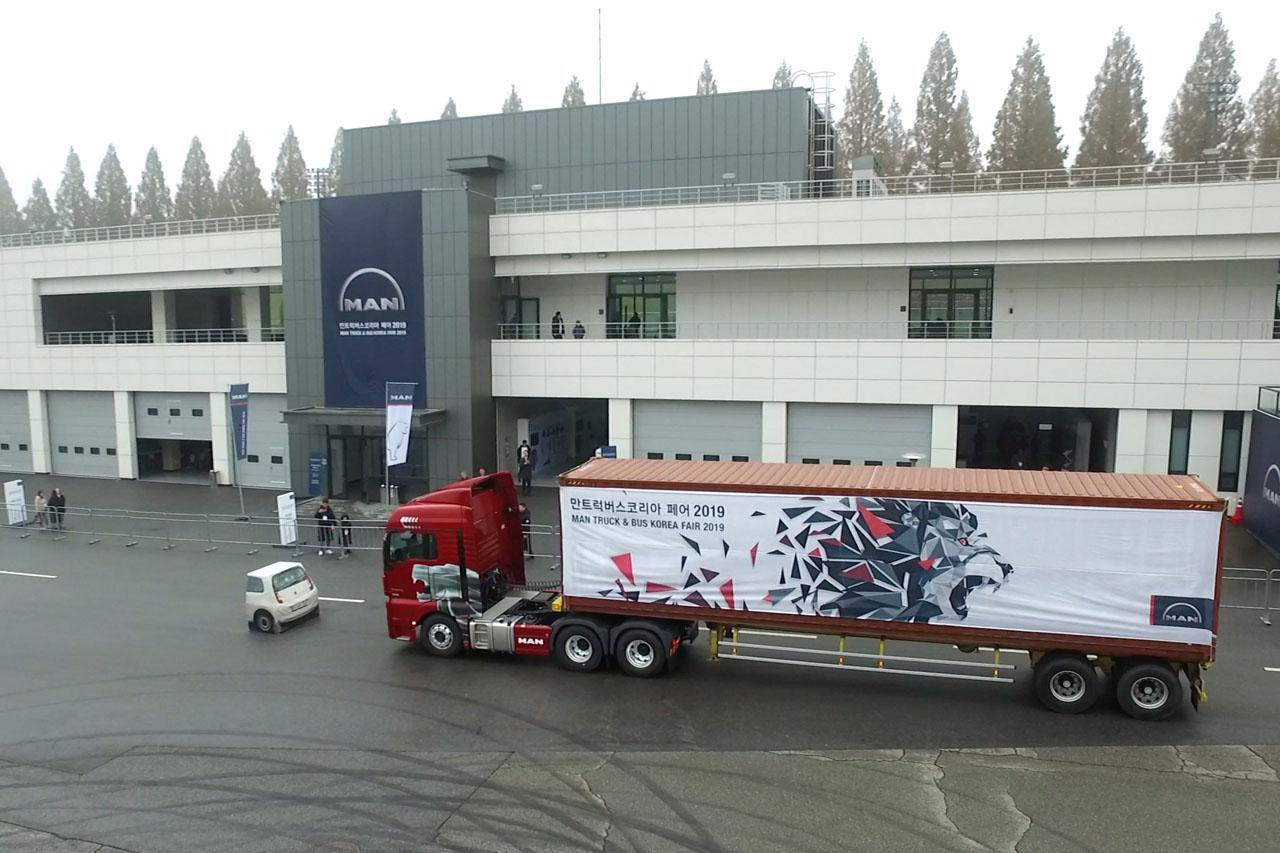 [참고사진] '만트럭버스코리아 페어 2019' 성료_'상용차 체험의 장'으로 자리매김(1)