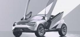 UFO 닮은 자율 주행 전기 SUV, '기아 퓨처론 컨셉'