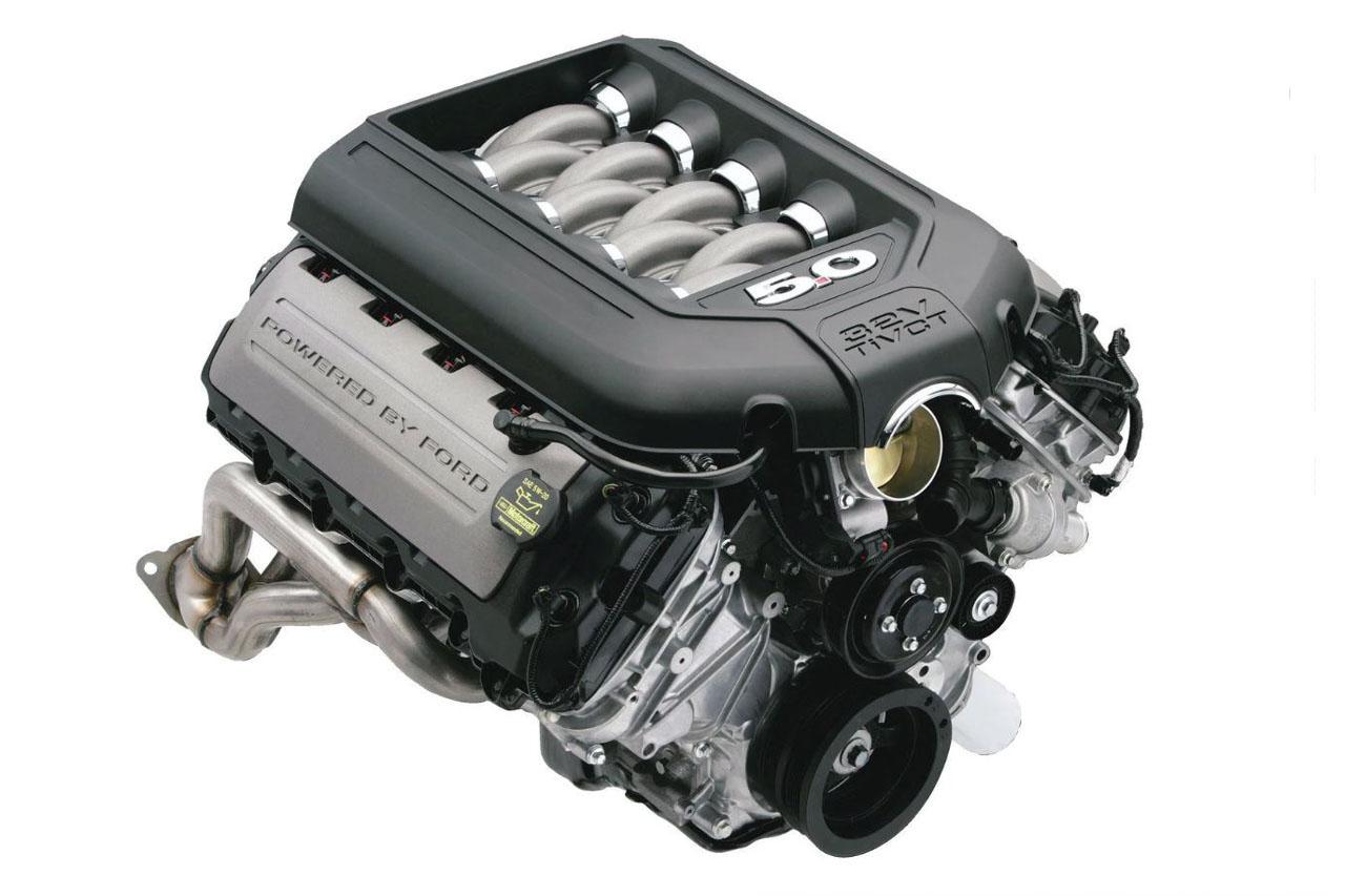 coyote v8 엔진