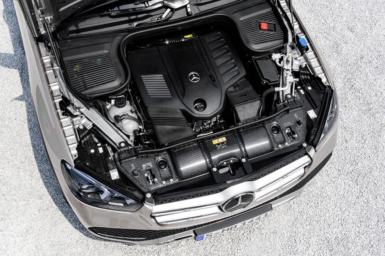 [이미지] 랑세스 엔지니어링 플라스틱 _테펙스 다이나라이트'가 메르세데스-벤츠 중형 SUV인 'GLE'의 프론트-엔드 서포트에 적용됐다