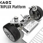 자오스모터스, 모터 통합 전기차 플랫폼 트리플럭스 개발