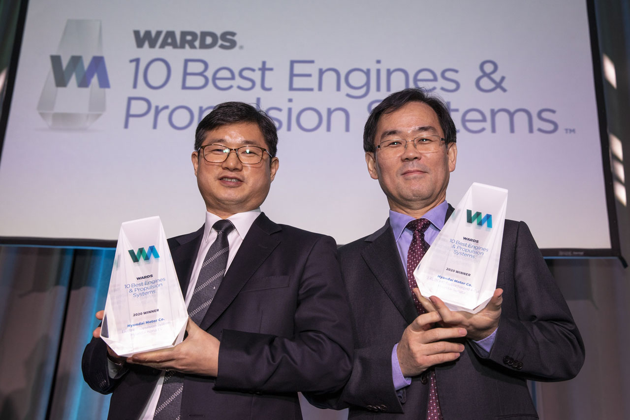Hyundai Awarded Two Engine Honors in Wards 10 Best Egines and Propulsion Systems Competition