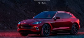 애스턴마틴 첫 SUV 'DBX' 다음달 5일 국내 공개 확정