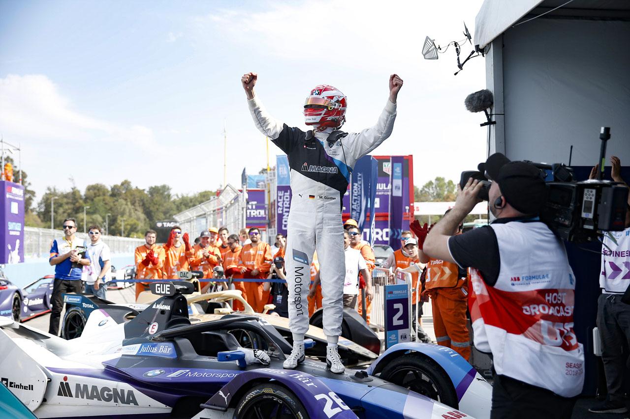 [참고사진] 포뮬러 E 3라운드, 산티아고 E-프리서 BMW 맥스 군터 우승 (1)