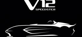 애스턴 마틴, 88대 한정판 로드스터 'V12 스피드스터' 티저 이미지 공개