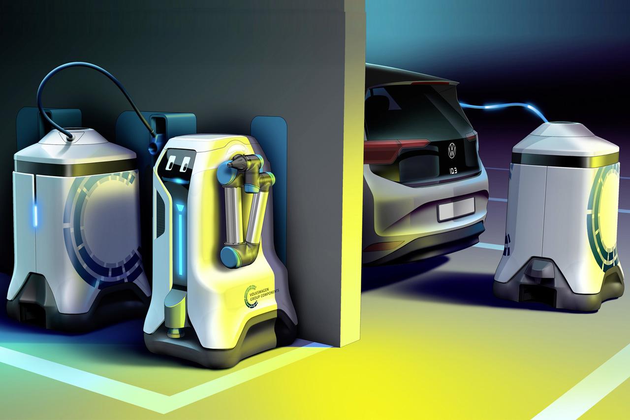 Revolution in the underground car park ??Volkswagen lets its c