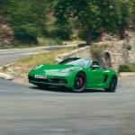 포르쉐, 4리터 6기통 박서 엔진 탑재한 신형 '718 GTS 4.0′ 공개