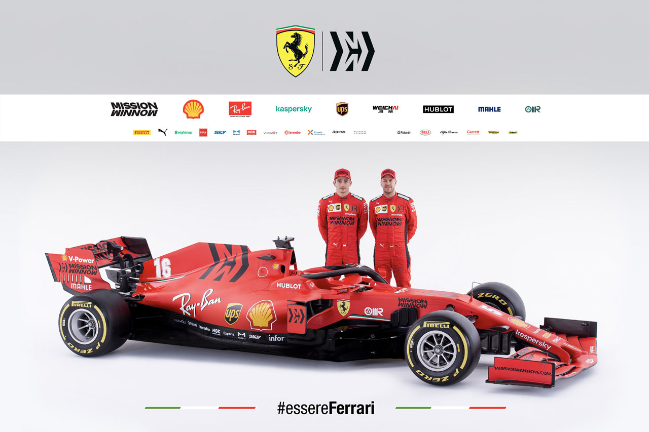 [사진자료] 페라리 2020시즌 F1 머신 SF1000 공개 (3)