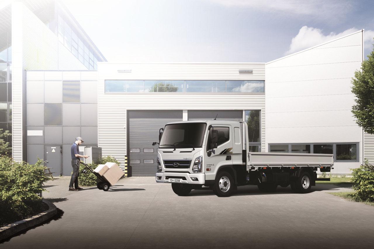 [사진자료1] 앨리슨 트랜스미션-현대차, 전자동 변속기 장착된 _마이티_ 준중형 트럭 출시
