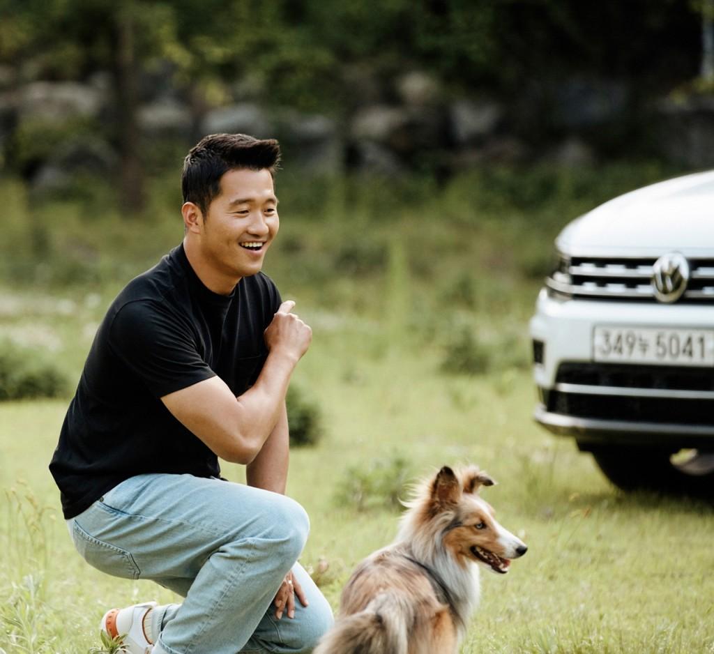 폭스바겐 SUV 홍보대사 강형욱 (2)
