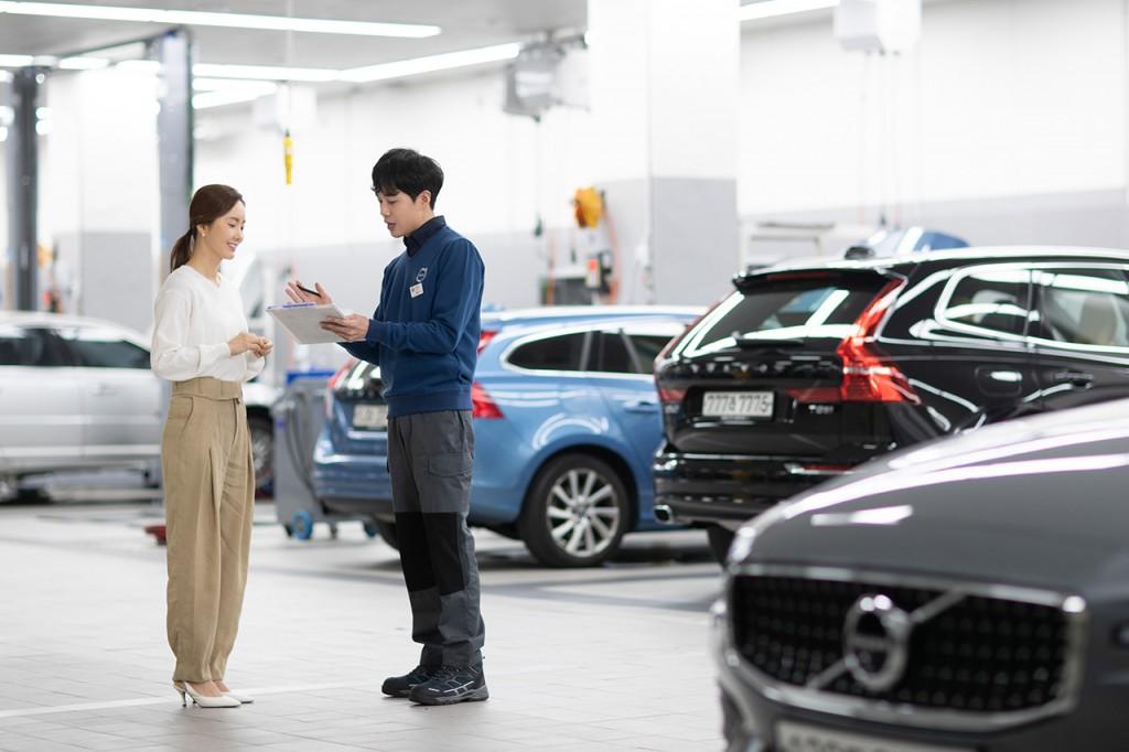 사진자료_볼보자동차코리아, 무상점검 캠페인 '서비스 바이 볼보. 솜마르 2020' 실시 (1)