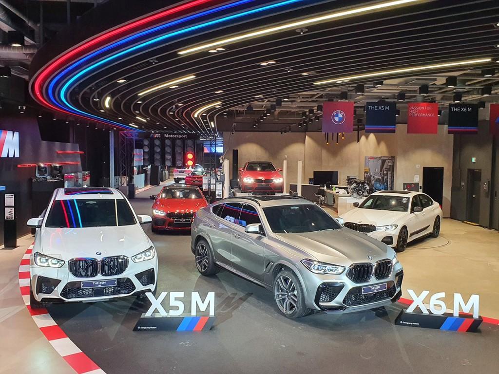 사진-BMW 동성모터스, '뉴 X5 M 및 뉴 X6 M 런칭 고객 이벤트' 실시