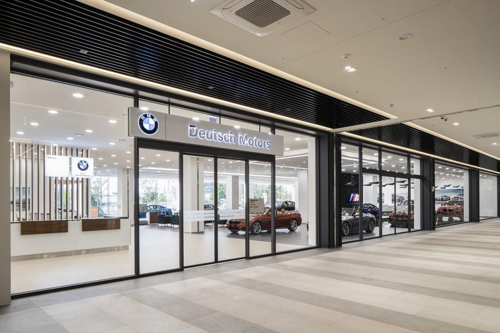 사진1- BMW 수원 도이치오토월드 전시장