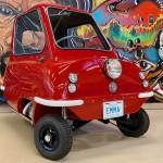 """""""쌀가마보다 가벼워"""" 세계에서 가장 작은 차 P50, 경매에 출품"""