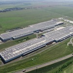 Audi Hungaria: Photovoltaic system on the roofs of the two logistics halls