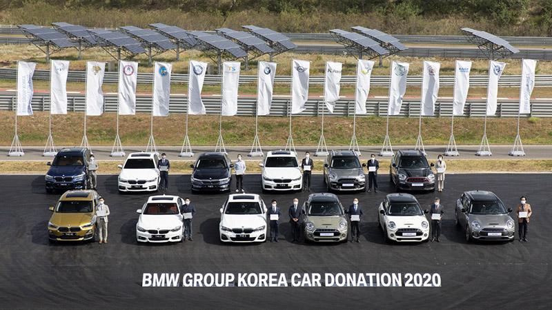 사진-BMW 그룹 코리아, 특성화고와 대학교 등에 연구용 차량 12대 기증 (2)