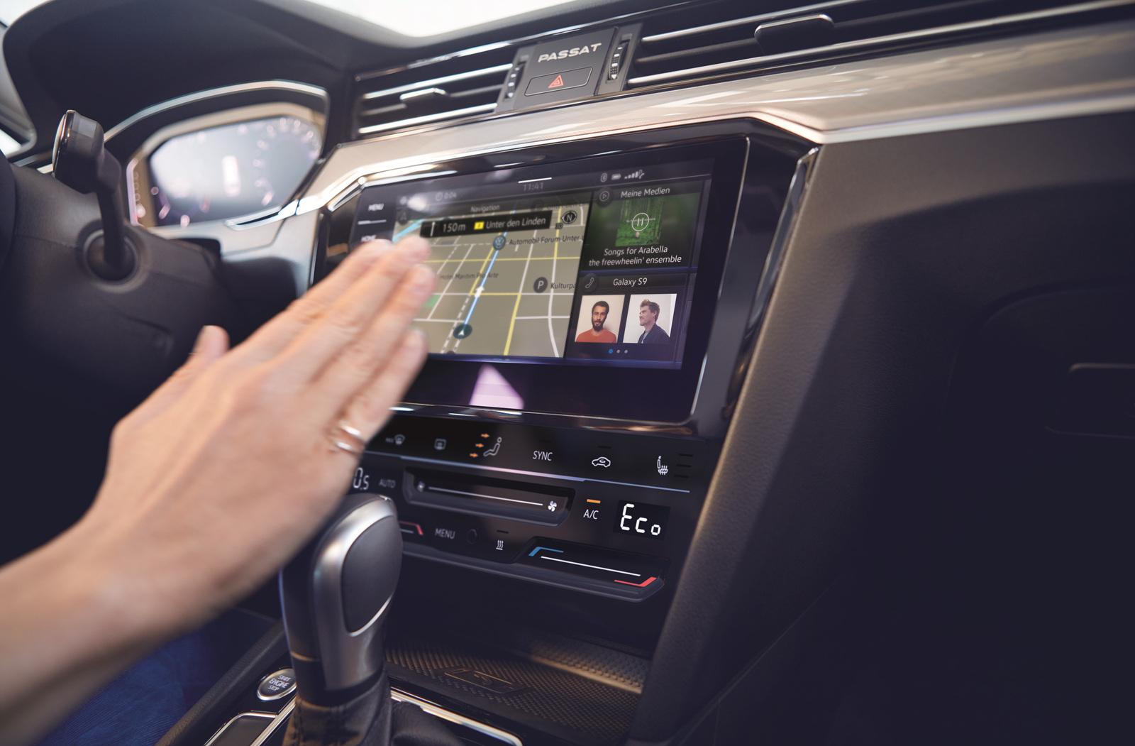 [폭스바겐] 뉴 스마트 비지니스 세단 신형 파사트 GT_최신 인포테인먼트 시스템 MIB3