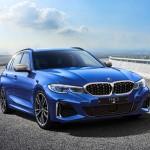사진2-BMW 샵 온라인 1월 한정판_M340i xDrive 투어링 산 마리노 블루