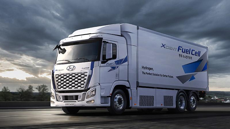 (사진 1) 현대차, 21년형 엑시언트 수소전기트럭 출시
