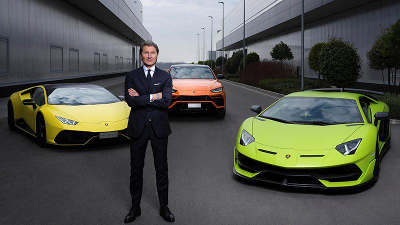[참고사진] 람보르기니 회장 겸 CEO, 스테판 윙켈만 (3)