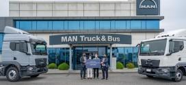 만트럭버스코리아, 뉴 MAN TGM 및 TGL 1호차 고객에게 전달하며 판매 박차